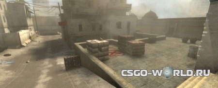 Карта de_dust2 с CS:GO в Counter-Strike Source