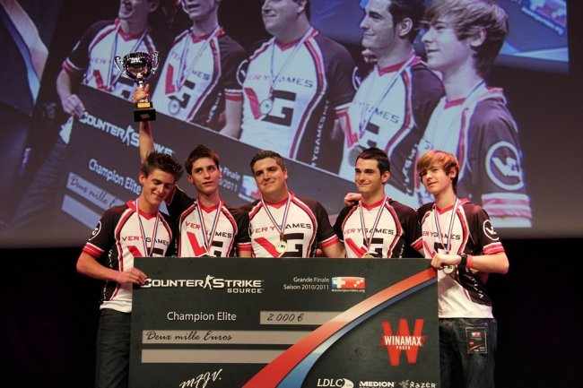 Битва команд в Counter-Strike:GO на Dreamhack Valencia 2012